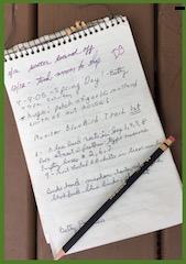 Field Station Notebook